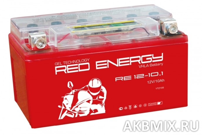 Аккумулятор Red Energy RE 12-10.1 (12V, 10Ah, 200A) [YTZ10S]